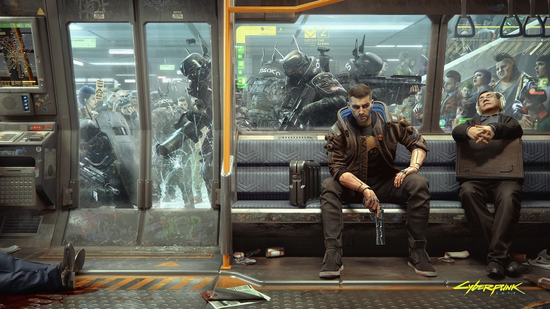 Cyberpunk 2077 แจกวอลเปเปอร์จากเกมให้เลือก 4 แบบ - GameFever