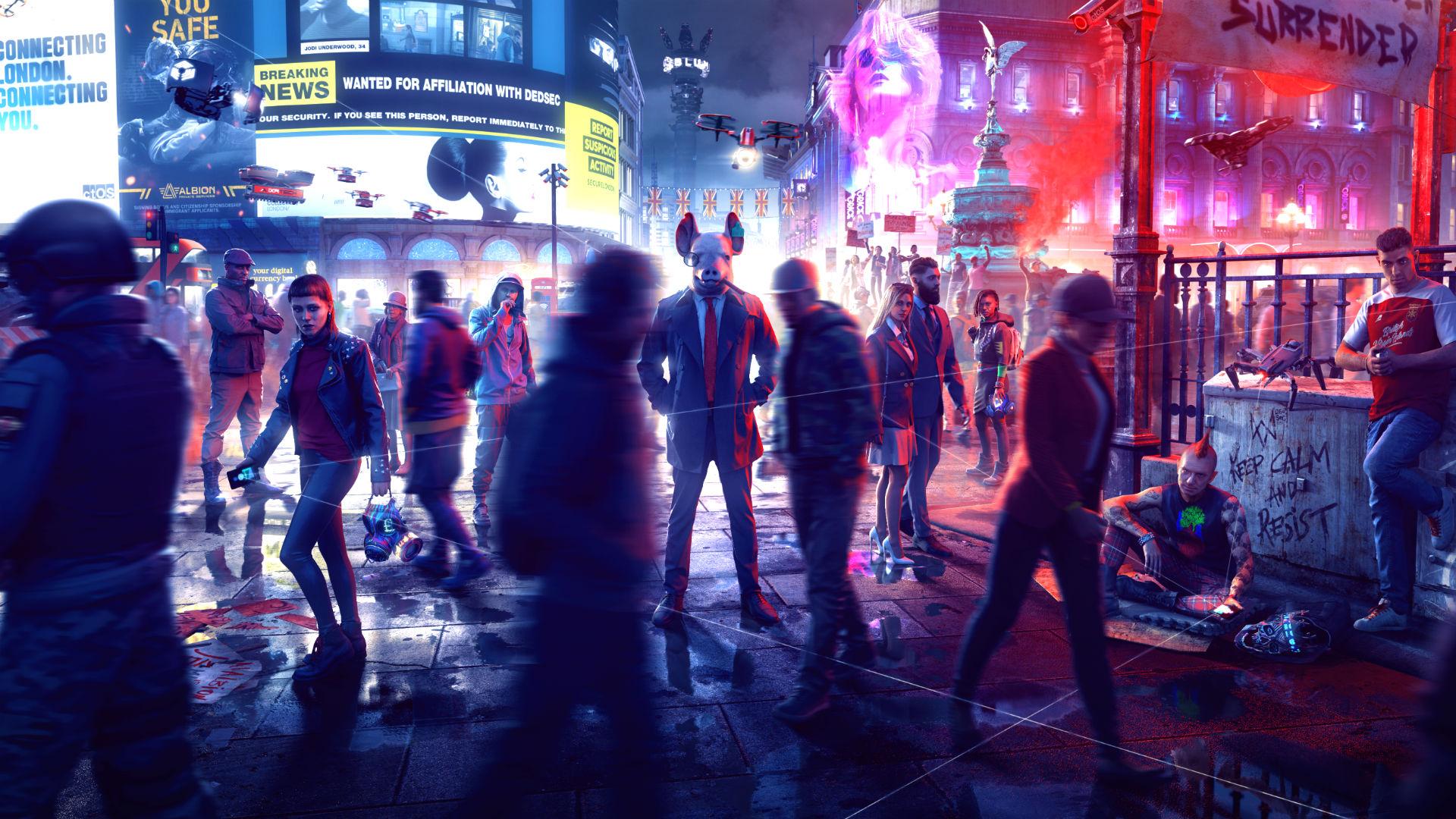 Watch Dogs: Legion รีวิวจากสำนักสื่อจะออกมาในวันที่ 28 ตุลาคมนี้