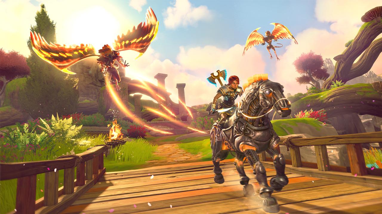 Immortals Fenyx Rising เริ่มปล่อยเกมเพลย์บนเครื่องต่างๆ แล้ว!