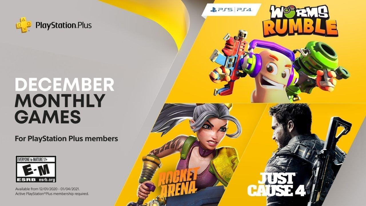 สมาชิก PS Plus รับเกมฟรีประจำเดือนธันวาคมได้แล้ววันนี้!