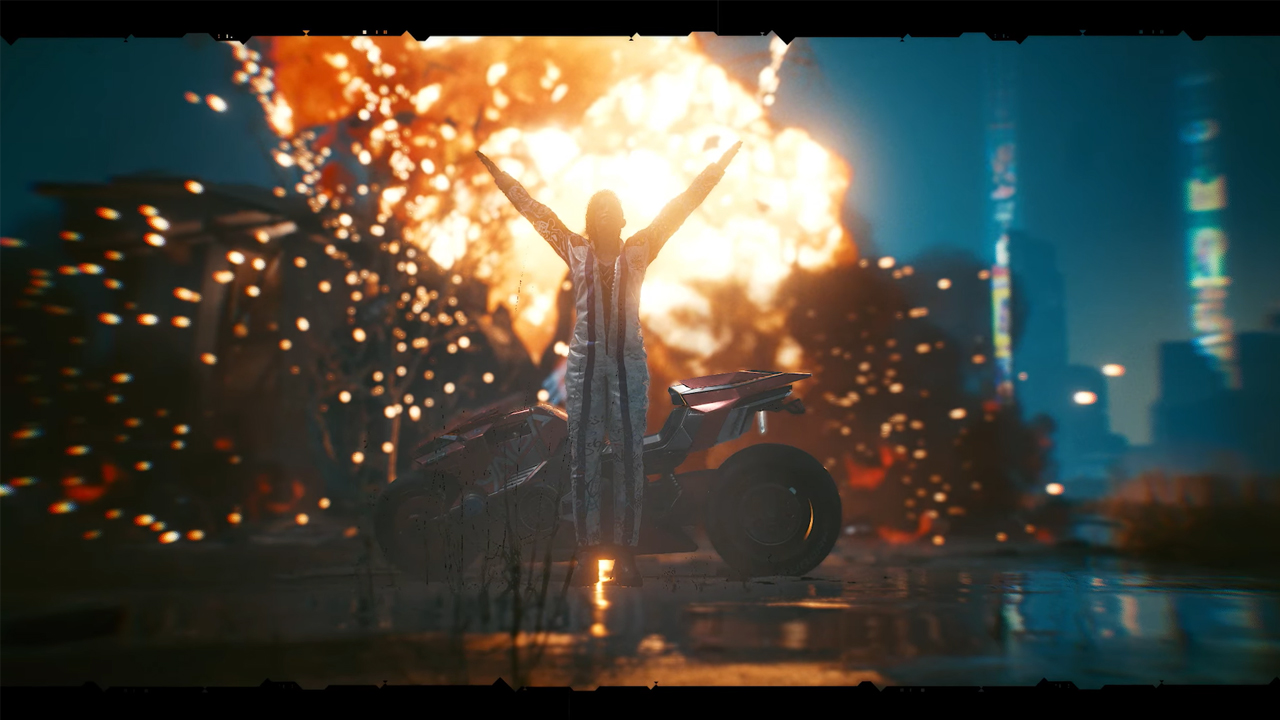 Cyberpunk 2077 โชว์โหมดถ่ายรูปแบบ Full Option ในวิดีโอใหม่!