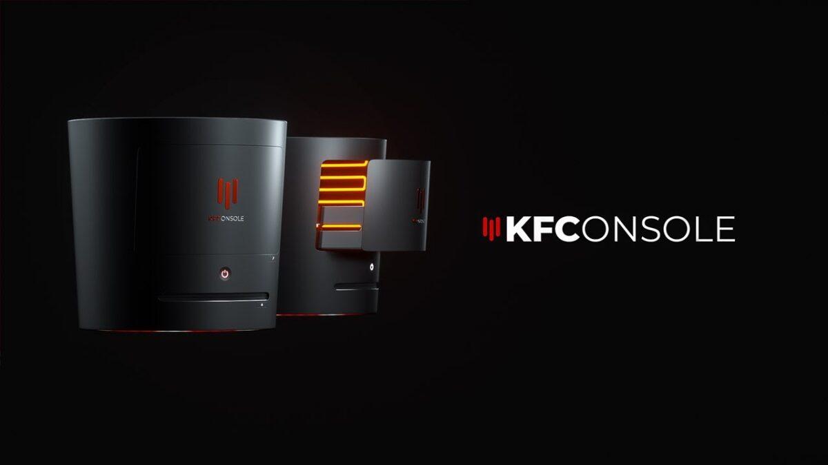 KFC ประกาศกร้าว ส่งเครื่องคอนโซลแข่งกับ PS5, Xbox Series X (พร้อมช่องไว้อุ่นไก่)