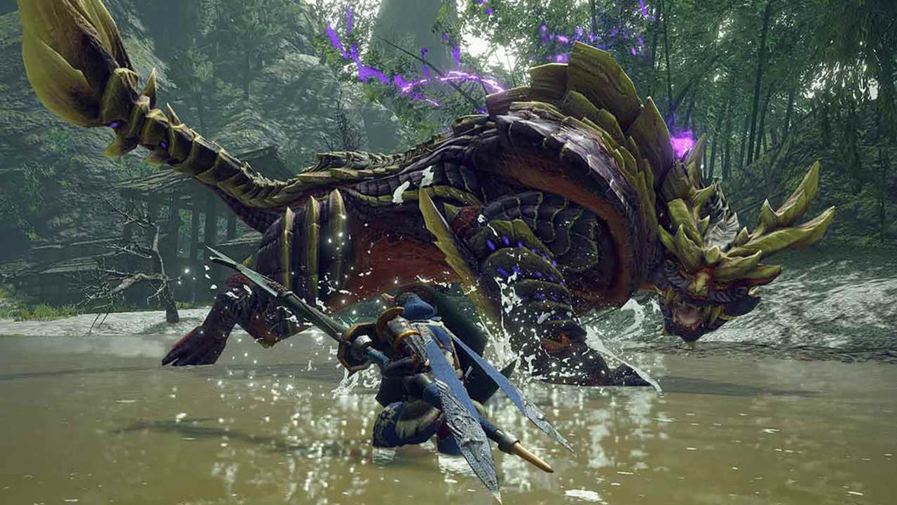 Monster Hunter Rise โชว์ Concept Art ชุดในเกม และวิดีโอการใช้ Wirebug