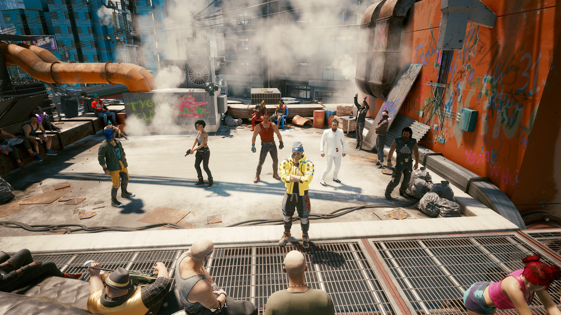 Cyberpunk 2077: Mod ใหม่เอาใจสายขี้เหงา ทำให้ V มีเพื่อน NPC ติดตามตลอดเวลา