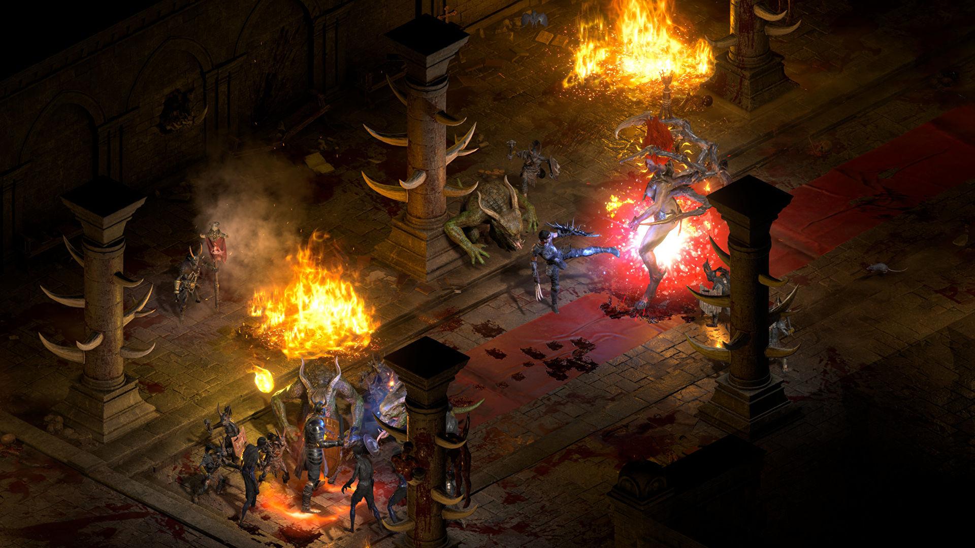 รับชมความแตกต่างของ Diablo 2: Resurrected กับ Diablo 2 ได้แล้ววันนี้