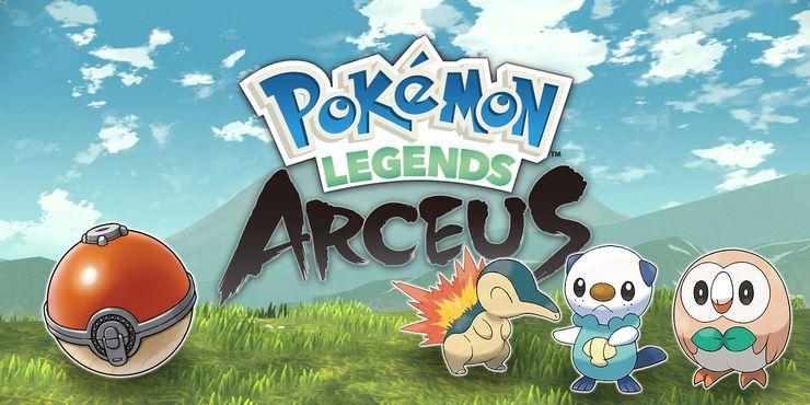 สานฝันเกมโปเกม่อนโลกเปิดใน Pokemon Legends: Arceus ปี 2022 นี้!